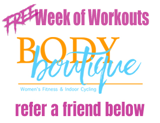 Week of Free Workouts Form Header