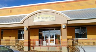 Body Boutique Fitness Store Front