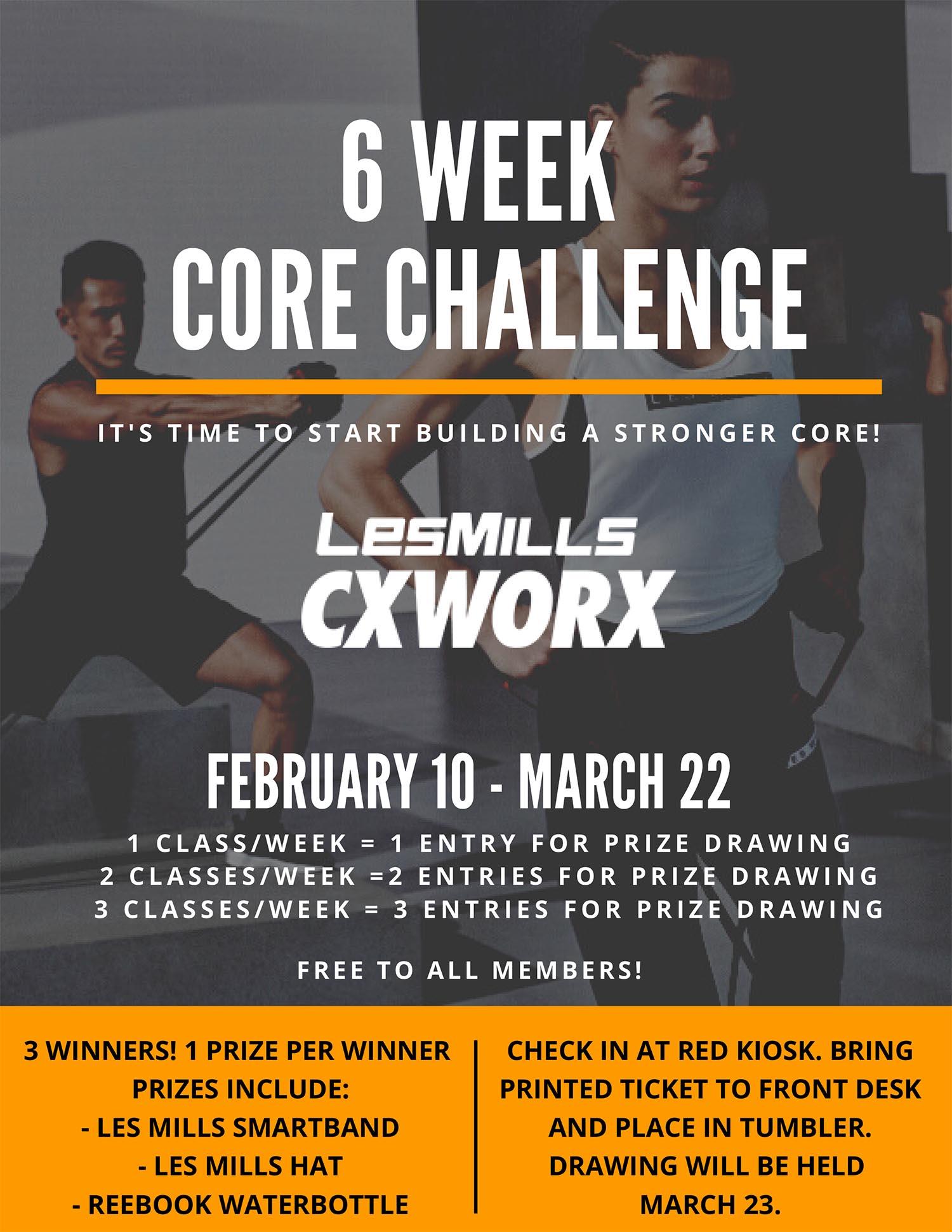 6 Week Core Challenge