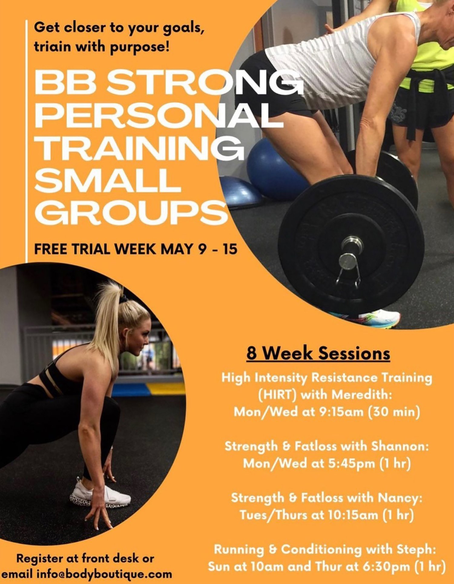 BB Strong Personal Training - Small Group Training