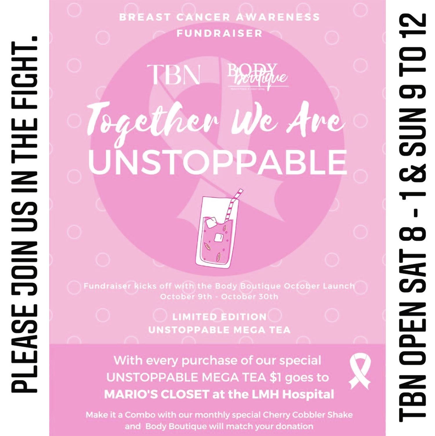 Breast Cancer Awareness Fund Raiser